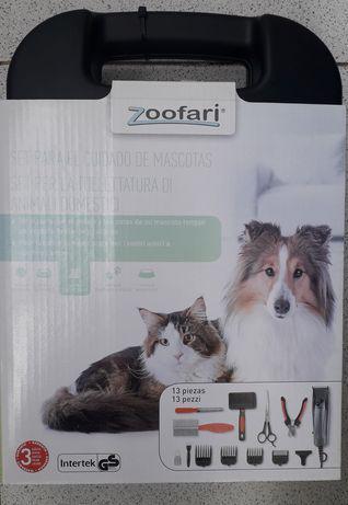 Máquina tosquiar cães gatos nova