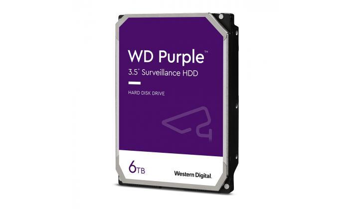Disco rígido 3.5'' western digital purple 6tb 5640rpm 128mb