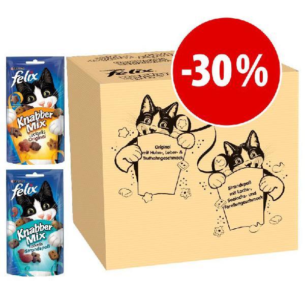 Felix party mix 16 x 60 g - pack misto snacks para gatos a