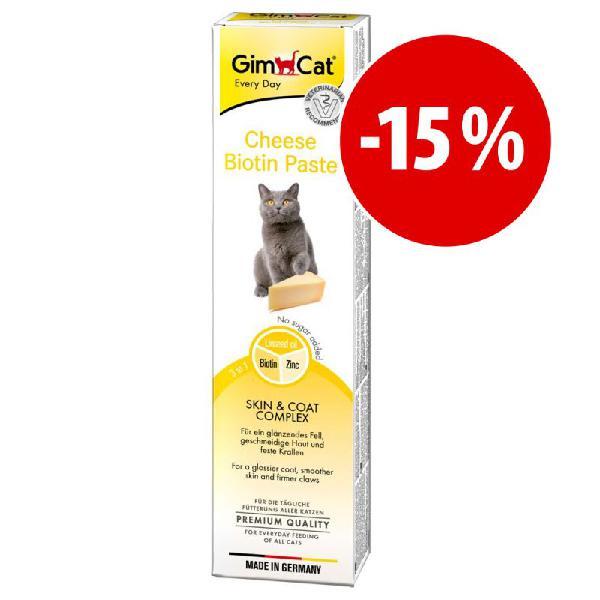 Gimcat pasta de queijo com biotina para gatos a preço