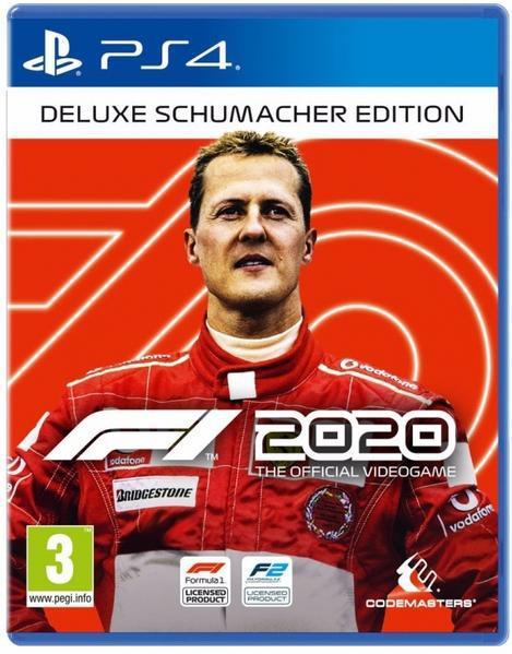 Jogo ps4 formula 1 2020 edição shumacher