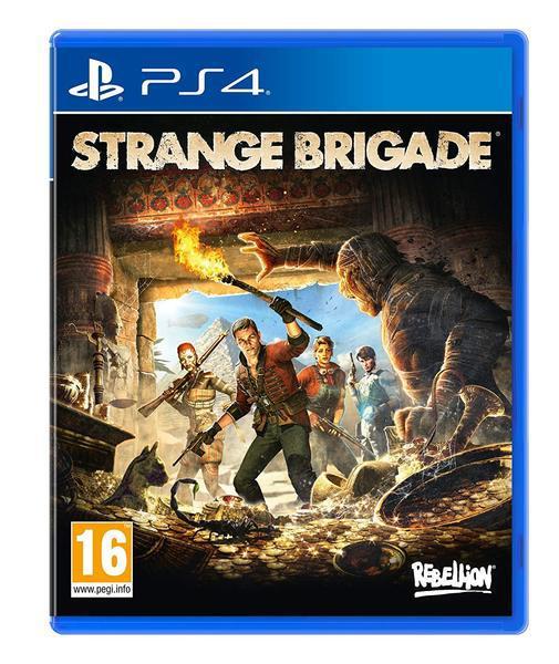 Jogo ps4 strange brigade