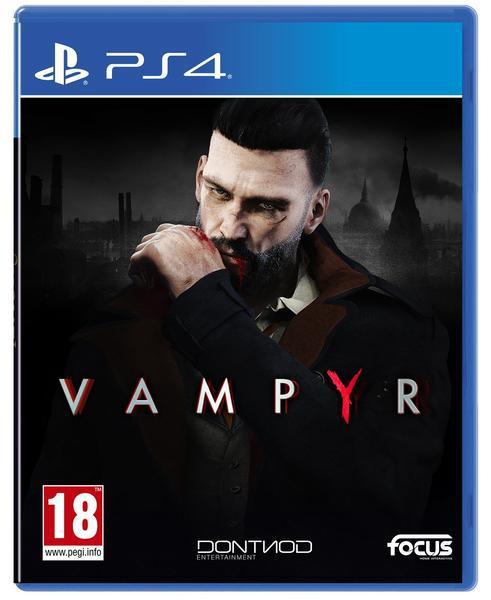 Jogo ps4 vampyr