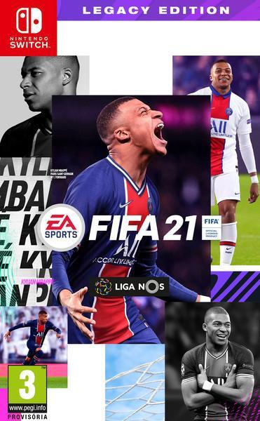 Jogo switch fifa 21 legacy edition
