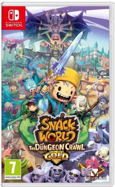 Jogo switch snack world: the dungeon crawl gold