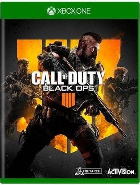Jogo xbox one call of duty black ops 4