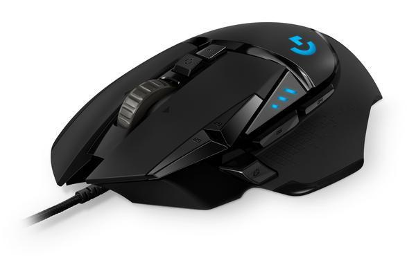 Rato gaming logitech g g502 alta performance