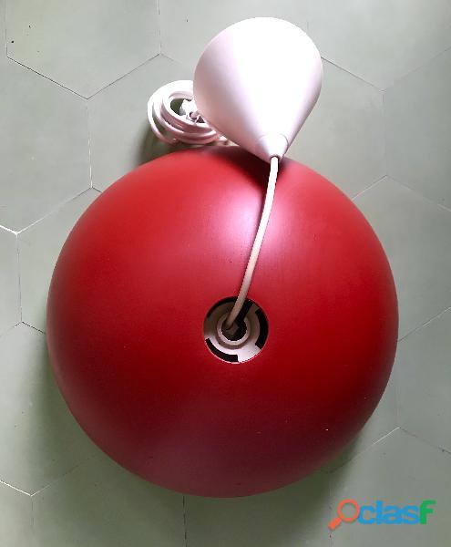 Candeeiro ikea (gama brasa)