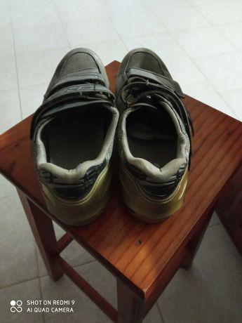 Sapatos ciclismo usados