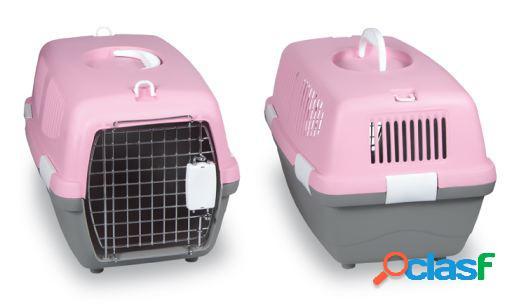 Transportadora cães e gatos cores sortidas gaun