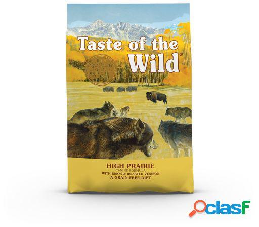 High prairie comida para bisonte e cão assado de veado 12.2 kg taste