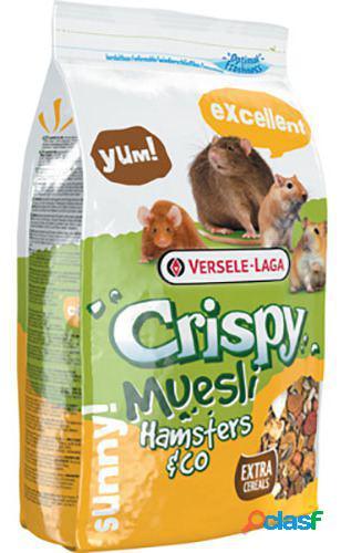 Hamster crocante de muesli e cobaias 400 gr versele laga