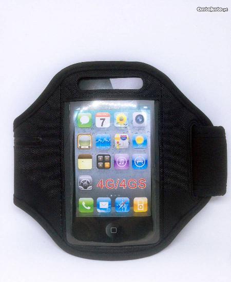 Braçadeira para iphone 4/4s - corrida/desporto