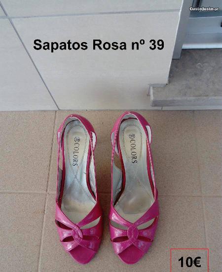 Sapatos rosa nº 39