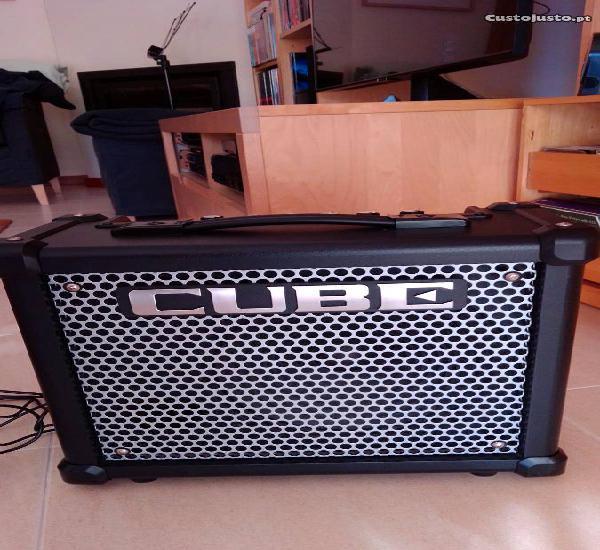 Amplificador roland cube 10 gx (como novo)