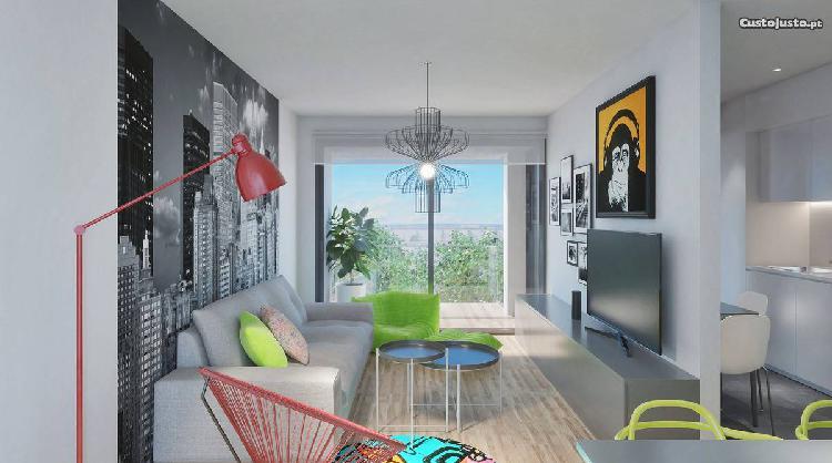 Apartamento novo t2 c/ varanda - paranhos
