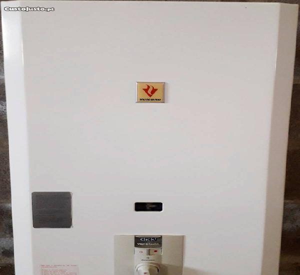 Esquentador vulcano inteligente ventilado de 20 lt