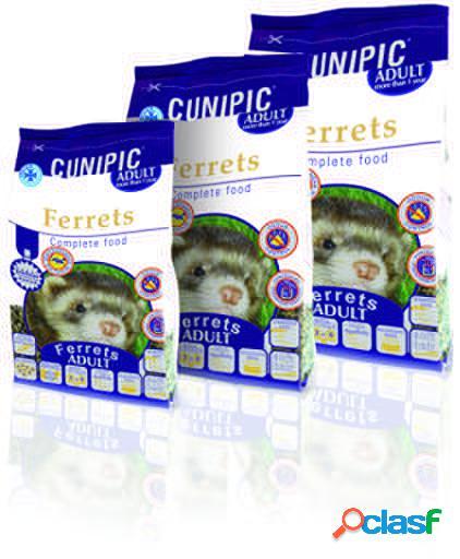 Alimentação completa para furão adulto 600 gr cunipic