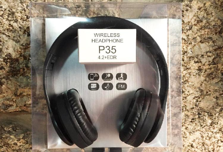 Auscultadores/headphones bluetooth wireless