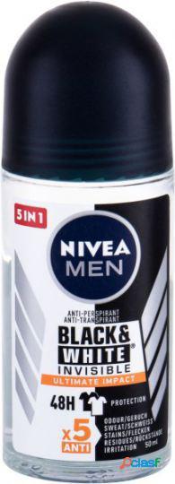 Nivea desodorizante roll on men para black & white ultimate impact