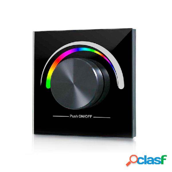 Painel frontal lb2836 rgb ruleta parede preto. loja online ledbox. sistemas de controle > regulação rf 2,4ghz