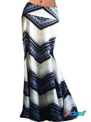 Fashion high waist stretch wrap hip skirt