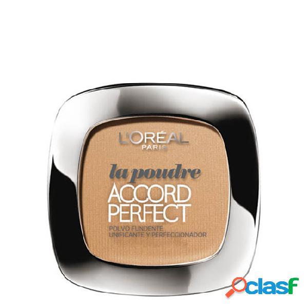L'oréal accord parfait pó compacto cor r3 beige rose 9gr