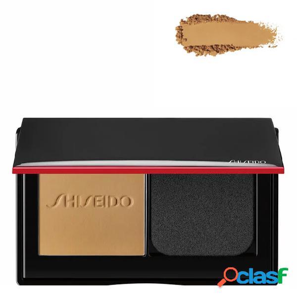 Shiseido synchro skin foundation base em pó compacto cor 340 oak 9 gr