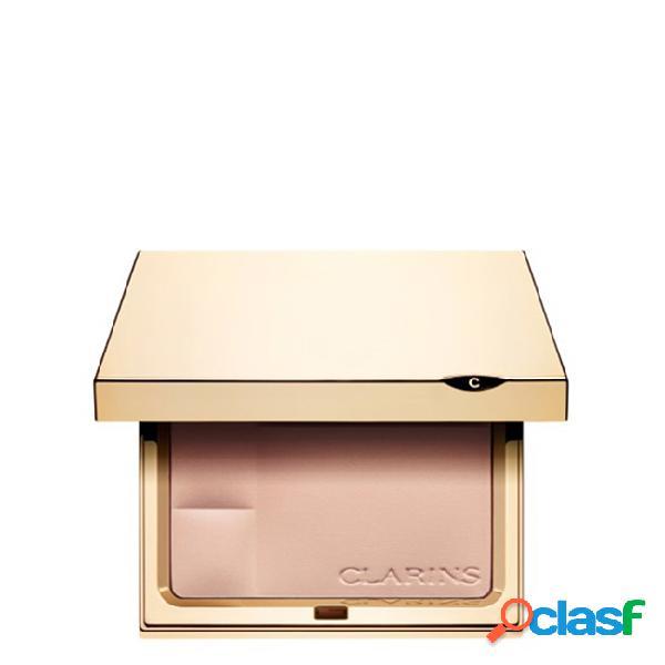 Clarins ever matte pó compacto cor 00 transparent opal 10gr