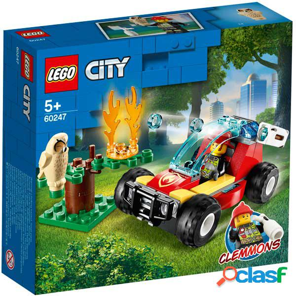 Lego city 60247 fogo florestal