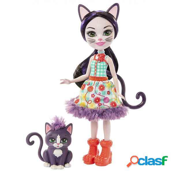 Enchantimals boneca ciesta cat e climber