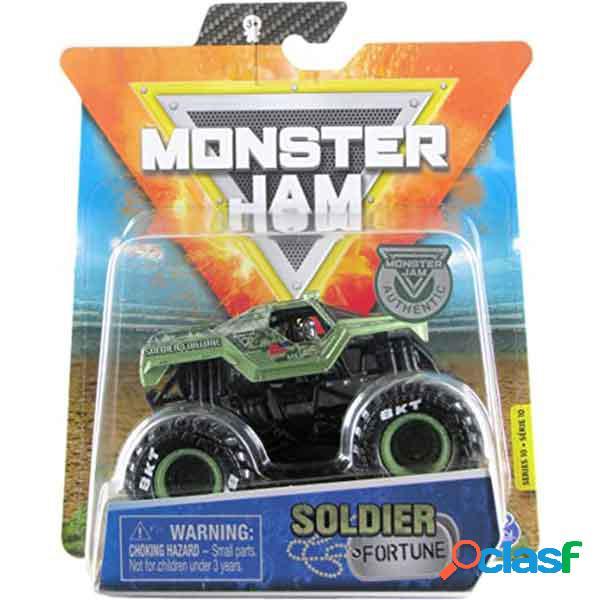 Monster jam basic soldier fortune 1:64