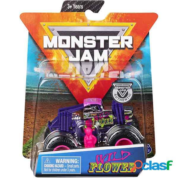 Monster jam basic wild power 1:64