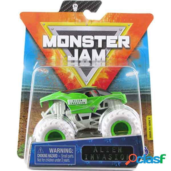 Monster jam basico alien invasion 1:64