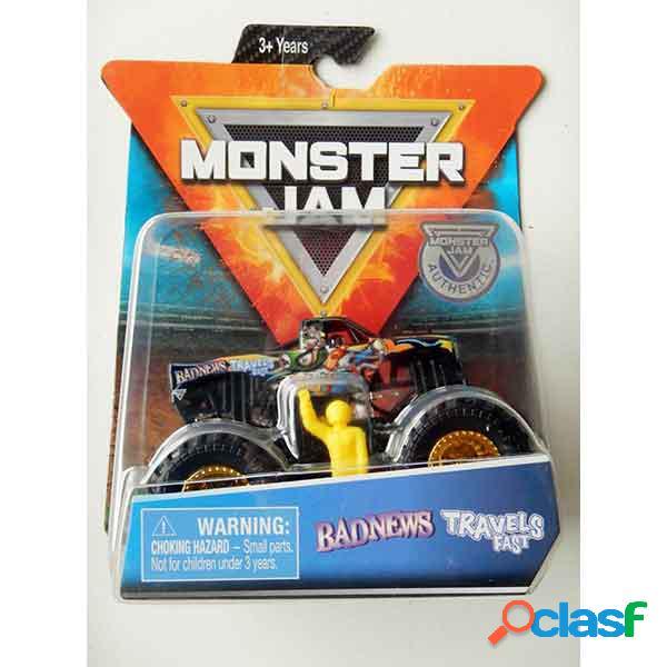 Monster jam basic badnews 1:64