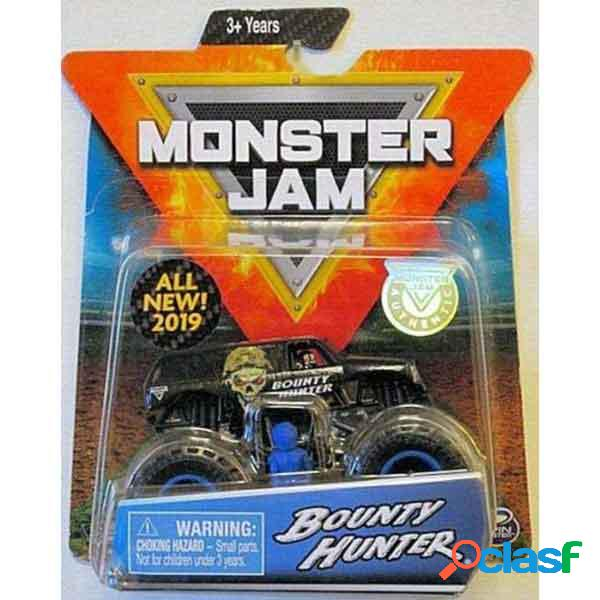 Monster jam basic bounty hunter 1:64