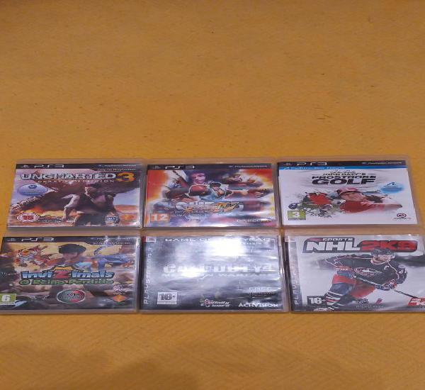6 jogos ps3