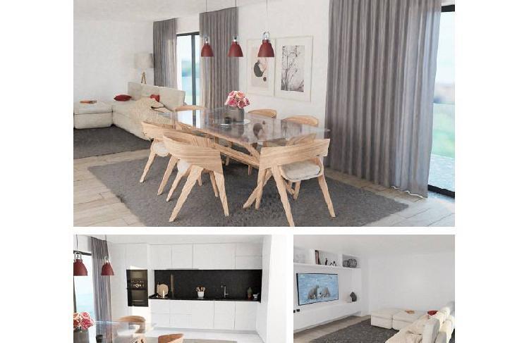 Apartamento t3 novo/último andar/ garagem 2...