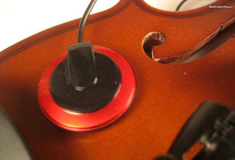 Captador ad-20 p/ guitarra, cavaquinho, ukulele