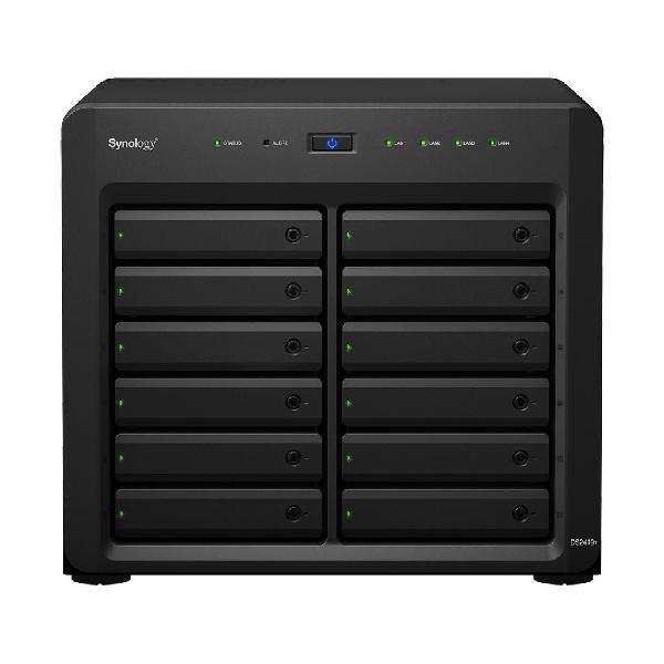 NAS DiskStation DS2419+ C3538 Ethernet LAN Tower (Preto) -