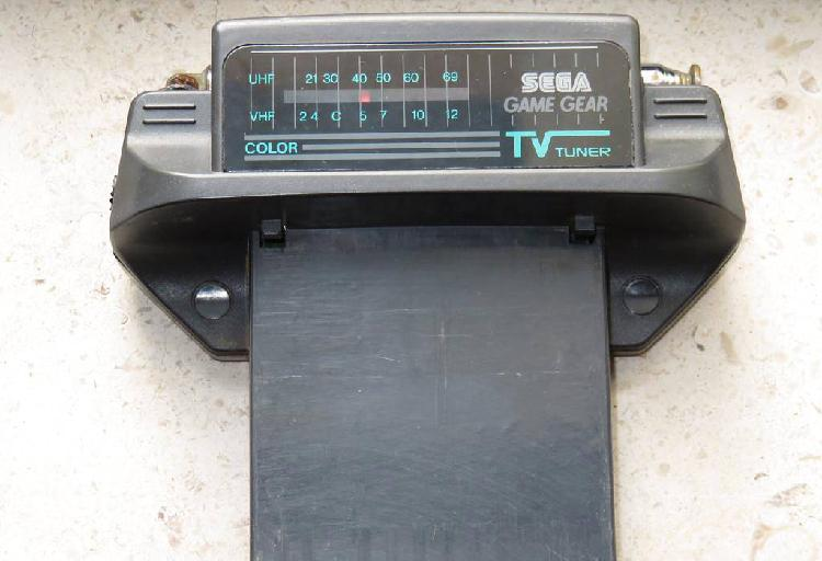 Sega gamegear tv tunner