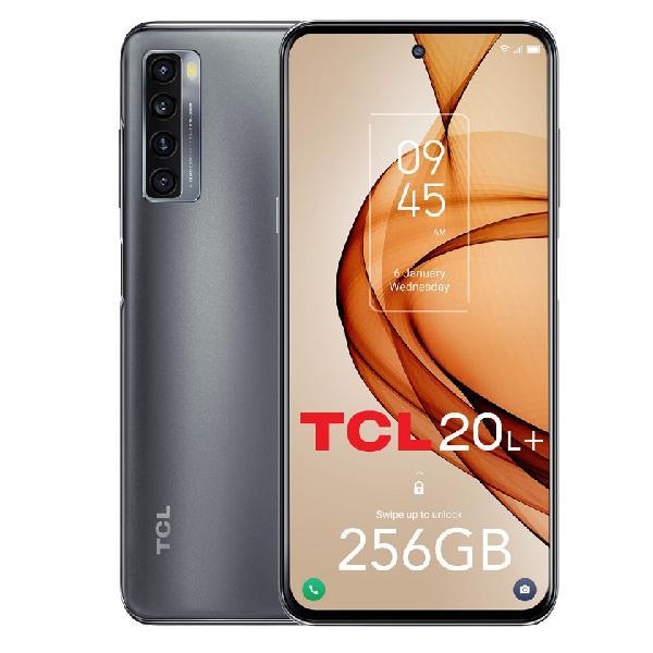 Smartphone tcl 20l+ 6.67'' 6gb / 256gb dual sim (preto)