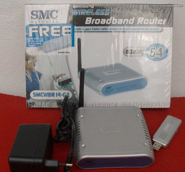 Router smc + oferta de pen usb