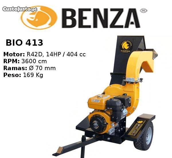Triturador de ramos benza bio 413 - campanha