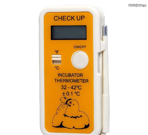 Termômetro digital de incubação 'check up'
