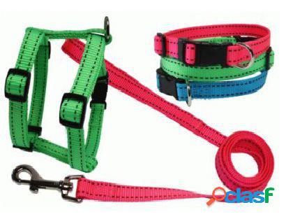 Neo necklace 20x350-450 mm verde sandimas