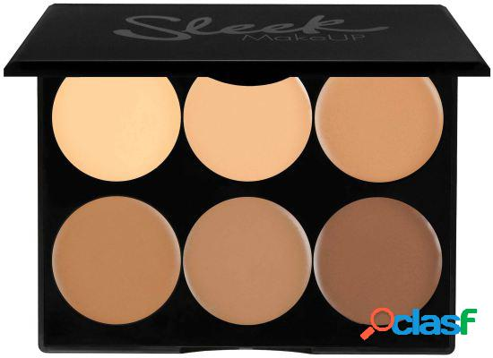Sleek make up creme contorno kit médio