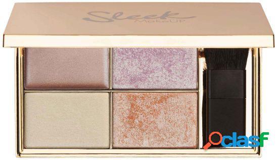 Sleek make up paleta de iluminadores do solstício 9 gr