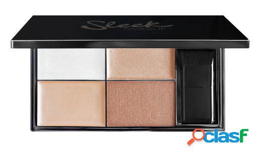 Sleek make up paleta de realce de metais preciosos 90 gr