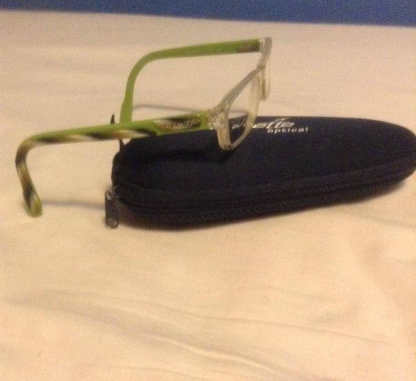 Armação óculos juvenis arnette haste verde-usados